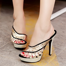 Ericdress Amazing Sequins Stiletto Sandals