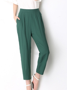 Ericdress Simple Straight Pants