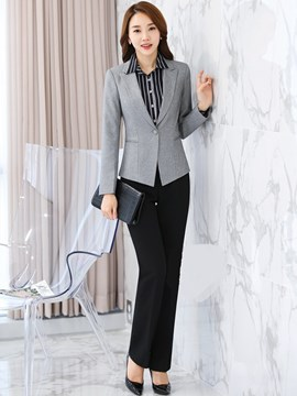 Ericdress Simple OL Blazer Suit