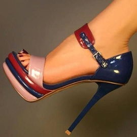 Beautiful Platform Stiletto Heels Sandals