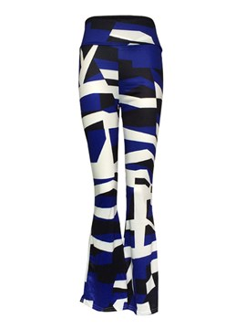 Ericdress Geometric Pattern Flared Pants