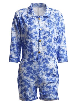 Ericdress Casual Print Rompers