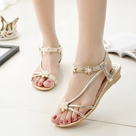 Ericdress Preppy Style Flat Sandals