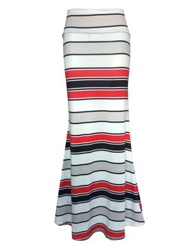 Ericdress stripe Bodycon Maxi Skirt