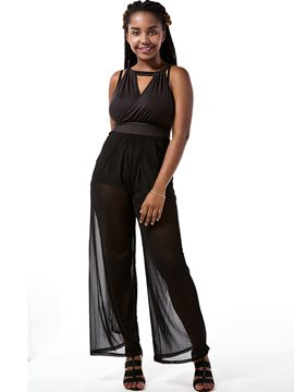 Ericdress Sexy Loose Jumpsuits Pants