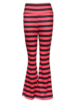 Ericdress Simple Stripe Flared Pants