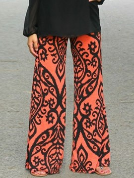 Ericdress Loose Print Pants