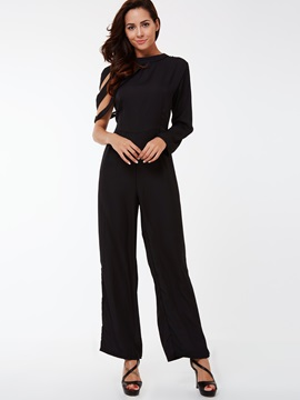 Ericdress Plus Size Irregular Sleeve Jumpsuits Pants