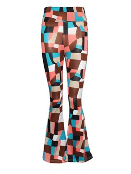 Ericdress Simple Geometric Pattern Flared Pants