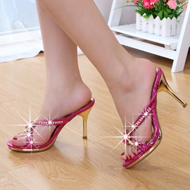 Ericdress Luxurious Rhinestone Stiletto Mules Shoes