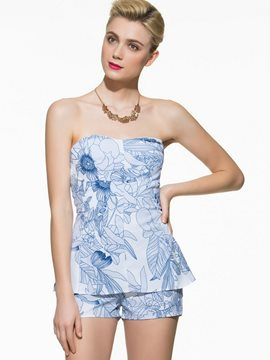 Ericdress Sexy Print Rompers