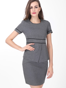 Ericdress Slim Bodycon Suit