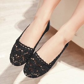 Ericdress Lace Hollow Out Flats