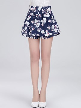 Ericdress Loose Double-Layer Shorts