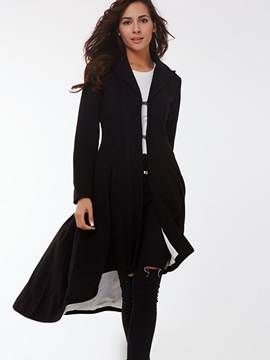 Ericdress Long Swallowtail Trench Coat