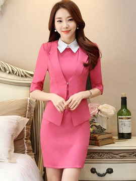 Ericdress Fashion OL Dress Suit