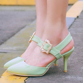 Ericdress Fresh Candy Color Stiletto Sandals