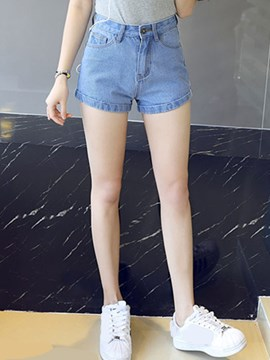 Ericdress Fashion One Button Shorts