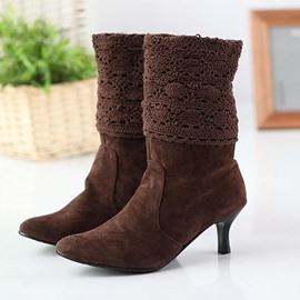 Ericdress Point Toe High-heel Boots