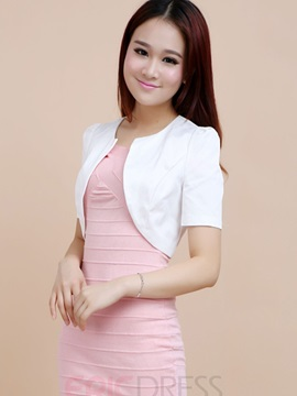 Ericdress Short Sleeve Blazer