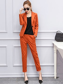Ericdress Simple Fashion Blazer Suit