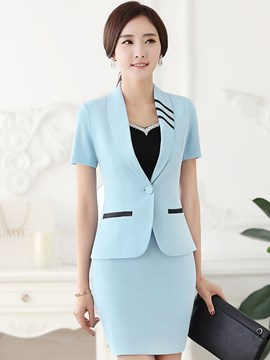 Ericdress Slim Two-Piece Formal Suit