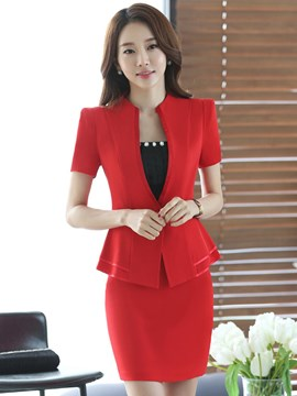 Ericdress Elegant Slim Bodycon Formal Suit