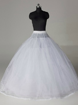 High Quality Elasticized Gauza Wedding Petticoat