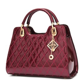 European Retro Plaid Women Handbags