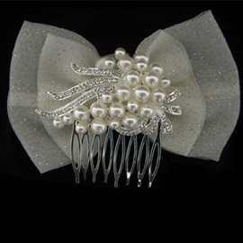 Wonderful Rhinestone Bridal Comb