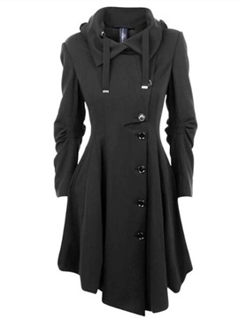 Ericdress Elegant Single-Breasted Coat
