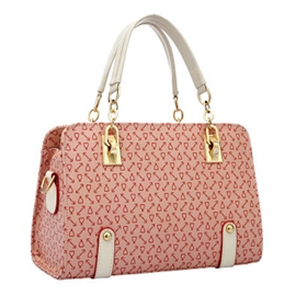 Arrow Print Chain Handbag