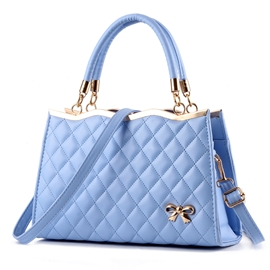Ericdress Vogue Bowknot Grained Handbag