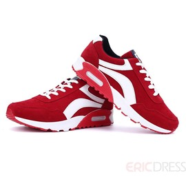 Ericdress Breathable Color Block Lace-Up Men's Athletic Shoes