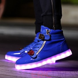 Eicdress LED Velcro Men's Sneakers