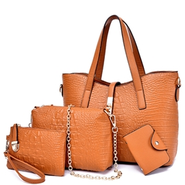Ericdress Lastest Crocodile Pattern Handbags(4 Bags)