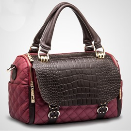 Newest Vogue OL Croco Handbag