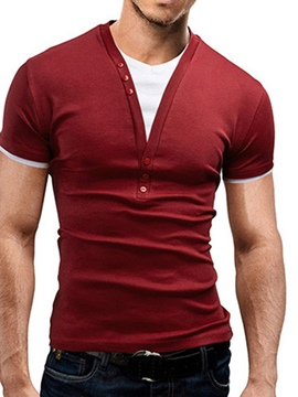 Ericdress Double-Layer Men's T-Shirt