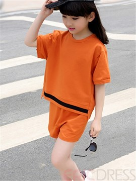 Ericdress Girls Casual Shorts Outfit