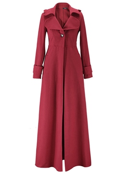 Ericdress Elegant Long Style Coat