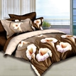 Ericdress Unique Calla Lily Printed 4 Piece Camel Bedding Sets
