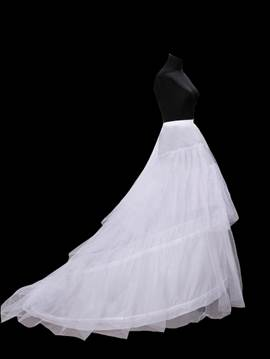 Pretty Long Tailing Gauze Wedding Petticoat