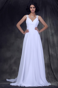 Incredible Empire Straps Sweetheart Floor-length Wedding Dress