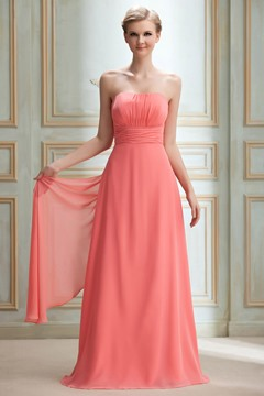 Fashionable Draped Sheath/Column Sashes/Ribbons Bridesmaid Dress