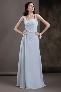 Fashionable Beaded A-Line Floor-Length Mother of the Bride Dress