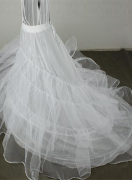 Gorgeous Three Layers Fluffy Organza Floor Length Wedding Petticoat