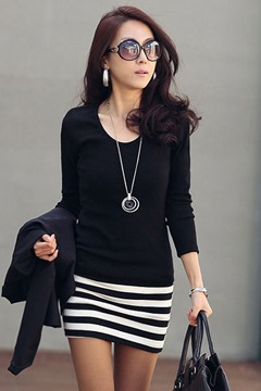 Ericdress Long Sleeve Casual Dress