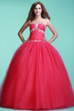 Gorgeous Sweetheart-Neckline Floor-Length Ball Gown Ela's Quinceanera Dress
