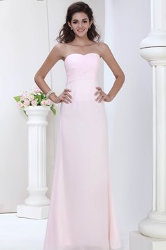Pretty A-Line Floor-Length Roxy's Bridesmaid Prom Dress