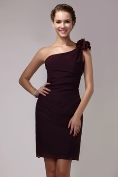er Empire Waist Short/Mini-Length Strapless Sandra's Bridesmaid Dress